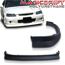 99-00 Honda Civic EK JDM Speed Front Bumper Lip Chin Spoiler Charge Style CS