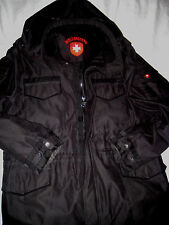 WELLENSTEYN GERMAN ENGINEERED SOHO REMOVABLE HOOD MULTI LOGO INSULATED JACKET-L