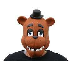 Quality Adult Five Nights At Freddy's Freddy Fazbear Full Latex Mask - FNAF