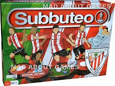 OFFICIAL ATHLETIC BILBAO Subbuteo Game Set Boys Mens Gift Football Soccer
