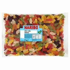 3kg Haribo Mini Jelly Babies Gummy Fruity Retro Party Sweets Candy