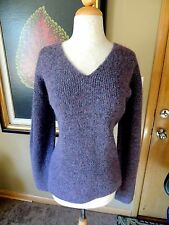 LUXURIOUS EILEEN FISHER SIZE LARGE MOHAIR BLEND SWEATER