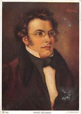 BF41050 fraz schubert  l nauer painting peinture  Famous People World leaders