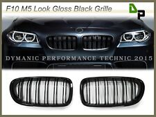 M5 Look Gloss Black Front Grille For BMW F10 F11 5-Series Sedan/Wagon 2011-2015