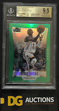 2012-13 Panini Prizm Prizm's Green Refractors Kyrie Irving Rookie BGS 9.5 RC