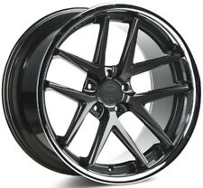 19x8.5 Rohana RC9 5x114 +15 Gloss Graphite Rims (Set of 4)
