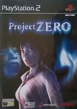 Proyecto cero (Sony PlayStation 2, 2002) - Versión Europea
