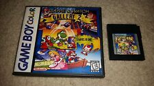GAME & WATCH GALLERY 2 II GAME BOY COLOR GBC NRMT CONDITION W CUSTOM CASE/