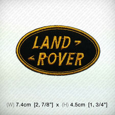 New LAND ROVER logo Embroidered Patch Iron on or sew , Racing SPORTS Top Class