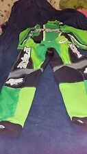 Fox Motorcycle/ Motocross racing clothes/pants size 30 Y/shirt size adult small