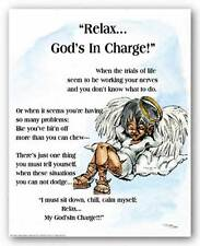 ART PRINT Relax Gods In Charge Donald Young