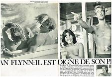 Coupure de presse Clipping 1962 (2 pages) Sean Flynn