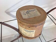 SCATOLA PANETTONE ALEMAGNA  CARTONE ANNI 40 - 50 60 con matricola consegna