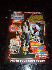 "SUPER HERO COLLECTION MEGA SPECIAL ""LOTO"" - DC COMIC FLYER"