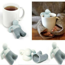 New Friend and Friends MISTER Mr. TEA Silicone Loose Leaf Tea Infuser Mug Cup