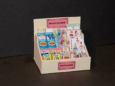 Dollhouse Miniature Sewing Notions Display Box Highly Detailed  1:12  GR
