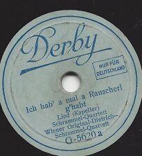 20 cm Derby: Wiener Original Dietrich Schrammel Quartett : Jetzt trink ma noch a