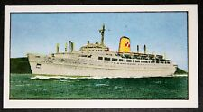 RMS EMPRESS OF ENGLAND   Canadian Pacific Liner   Vintage Colour Card