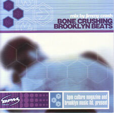 Various ‎– Bone Crushing Brooklyn Beats  X-Sight Records ‎– 6378-2 NEW CD