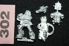 Warhammer 40k Damned Legionnaires with Multimelta Legion of the Damned Metal