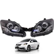 Fit 2007-12  Toyota Vios Yaris Sedan Belta Sedan Projector Led Head Lamp light