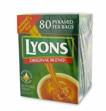 LYONS TEA 80 x 4 Box,320 Lovely Teabags.Exp12/2017,delivery in 3-4 business days