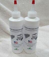 LIQUID BATTERY REPAIR Solution Kit- RESTORE Lead Acid DEEP CYCLE RV, BOAT, SOLAR