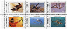 TEXAS #30 2009  STATE DUCK  STAMP  IN BOOKLET OF 6 DIFFERENT