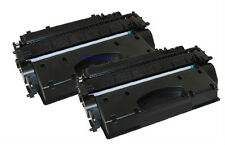 Compatible 2 Pack CE505X Toner Cartridge For HP LaserJet P2055 P2055d P2055dn