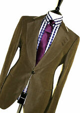 BNWT MENS EMPORIO ARMANI CUSTOM-MADE ITALIAN TAILOR-MADE PEAK LAPEL SUIT 46R W40