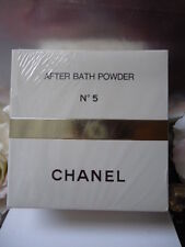CHANEL No5 AFTER BATH POWDER 330g 11.6 oz RARE HUGE SEALED BOX &SMELLS EXQUISITE