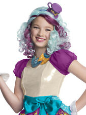 BAMBINO MONSTER EVER AFTER HIGH MADELINE CAPPELLAIO Parrucca FANCY DRESS Copricapo Kids