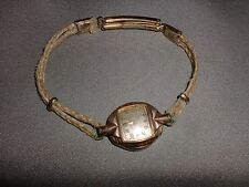 Vintage Womens Gruen Veri-Thin Wrist Watch, For Parts or Repair