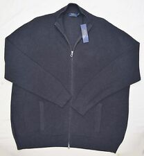 New 5XB 5XL BIG 5X POLO RALPH LAUREN Mens zip up Sweater Cardigan grey jumper RL