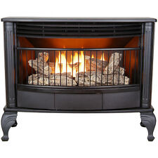 Vent Free LP Propane or Natural Gas Stove Fireplace 25k btu Space Heater Tstat