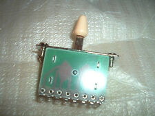 3 Way Pickup Selector Switch For tele Strat Guitar ,Cream Tip