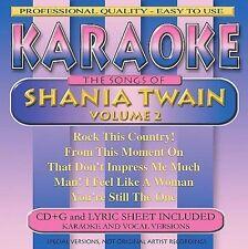 FREE US SH (int'l sh=$0-$3) NEW CD Various Artists: Shania Twain Karaoke, Vol. 2