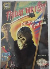 """SDCC JASON VOORHEES NECA VIDEO GAME NES Friday The 13th 7"""" INCH 2013 FIGURE"""