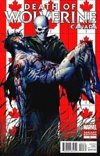 DEATH OF WOLVERINE #4 CANADA VARIANT NEAR MINT FIRST PRINT BAGGED AND BOARDED
