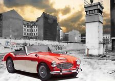 AUTOMOTIVE ART - AUSTIN HEALEY  - HAND FINISHED, LIMITED EDITION (25)