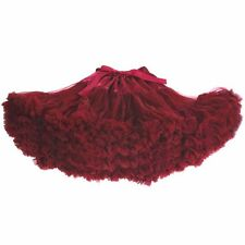 Women's Pettiskirt Adult Teenage Girls Chiffon Fluffy Tutu Skirts Family Clothes