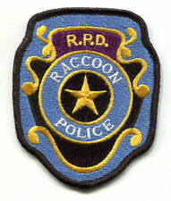 FANCY DRESS HALLOWEEN PROP RESIDENT EVIL: RACCON CITY POLICE R.P.D. νeΙcrο PATCH