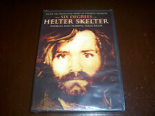 THE SIX DEGREES OF HELTER SKELTER Murder Charles Manson Serial Killer DVD NEW