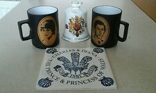 Princess Diana's wedding job lot
