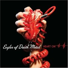 """Eagles Of Death Metal - Heart On LP + Red  7""""- SEALED Queens of the Stone Age"""