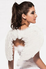 Sexy Angel White Wings Fancy Dress Costume Outfit Accessory
