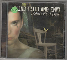 BLIND FAITH AND ENVY - murder of a girl CD