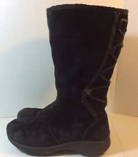 "Womens Suede ""Merrell Encore Back Lace"" Winter Boots - Shoe Size US 8.5 M"