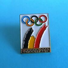 SUMMER OLYMPIC GAMES LONDON 2012. - olympics pin badge Belgium NOC