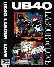 UB40 Labour Of Love CASSETTE ALBUM Reggae Dub, Reggae-Pop  DEP International